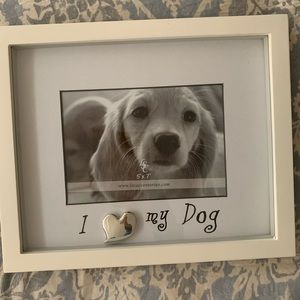 """Other - Beautiful 5x7 Frame """"I LOVE MY DOG"""""""